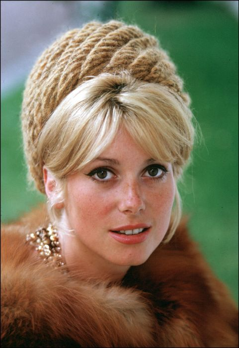 catherine deneuve...taken so many years ago but could be today!
