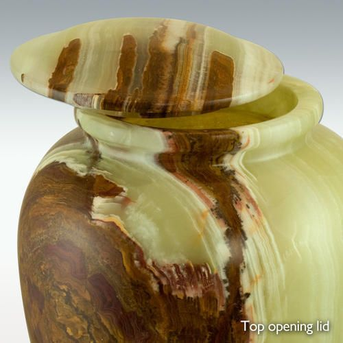 50d079cc3577b Large Jade Onyx Marble Grecian Cremation Urn - Engravable (PM10802 ...