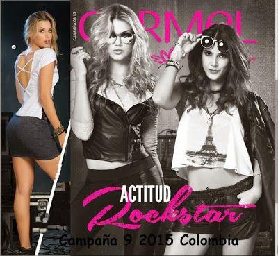 Catalogo Carmel Campaña 9 2015: Moda Rockstar Teens