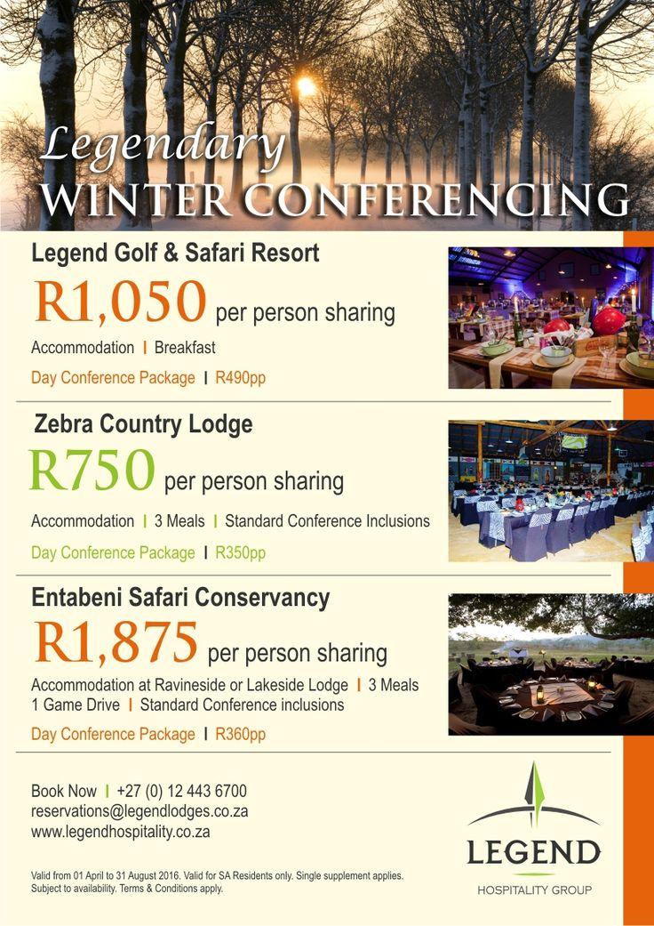 Legendary Winter Conferencing at Legend Lodges, Hotels & Resorts,