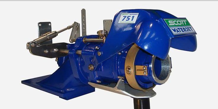 Scott Waterjet - Jet units, Jet pumps, Water Jet drives, Jet boats, Trim nozzles, Impellers