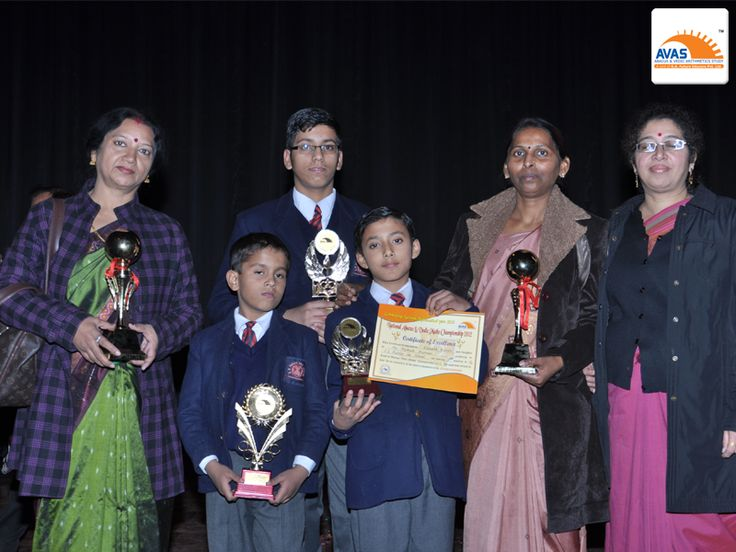 National Winner of National Level Abacus & Vedic Maths Championship and School Topper -2012