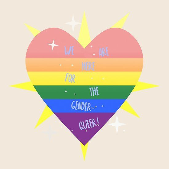 WE 'RE (WITH) THE QUEER!#new #design up on my #redbubble #store!!!