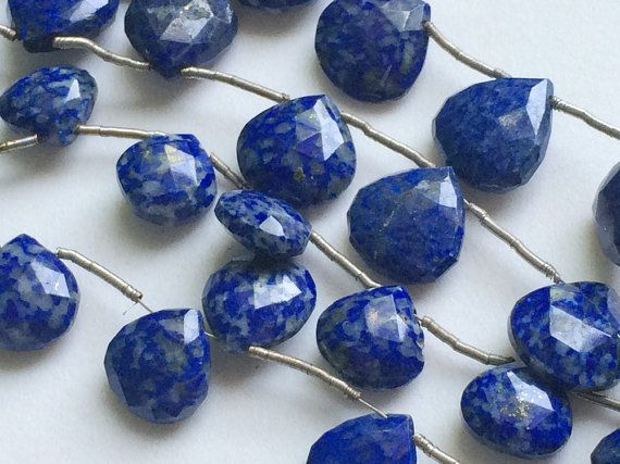 Lapis Lazuli Beads Blue Lapis Lazuli Faceted by gemsforjewels