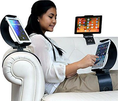 Clamp Champion Tablets & Cellphones Smart Holder - Universal Cell & Tablet Mount
