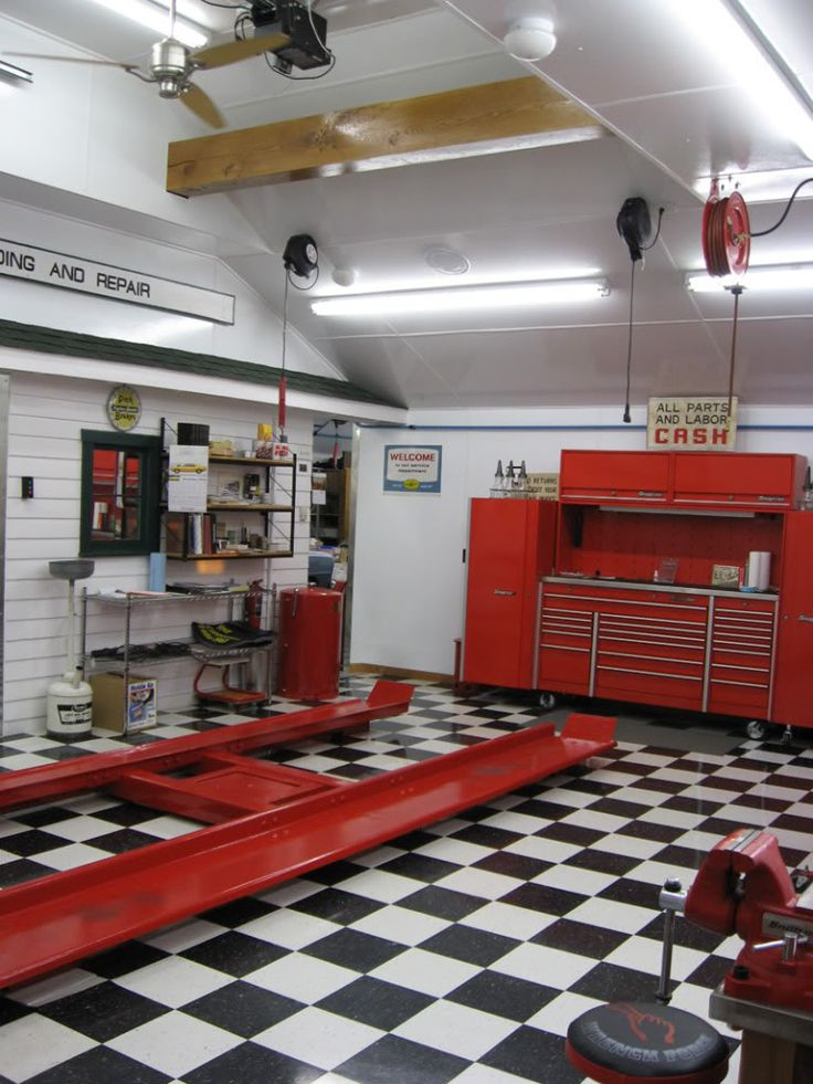 The BEFORE/AFTER Thread - Let's see your garage, shed, or shop  transformations
