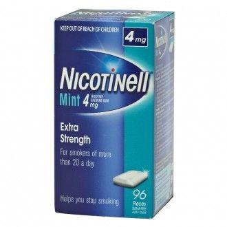 Nicotinell Mint 4mg Nicotine Chewing Gum.