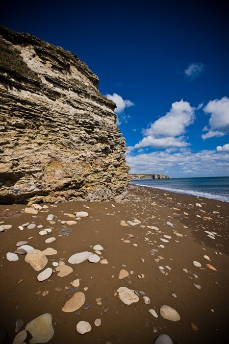 Durham's heritage coast has some fantastic beaches and amazing photograph opportunities