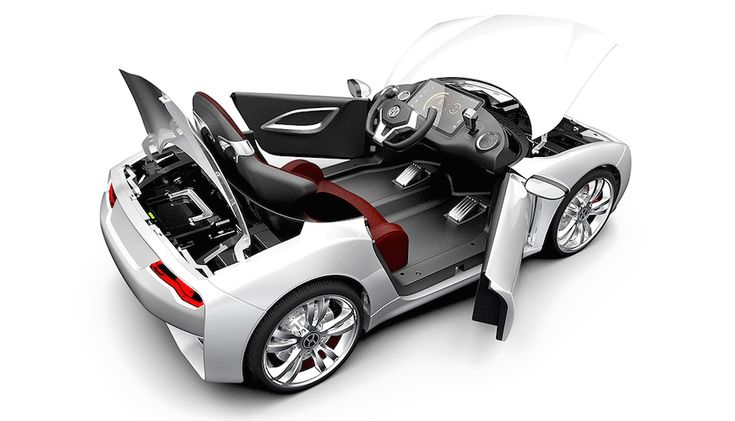 Desearás volver a ser un niño para conducir este deportivo eléctrico con Android (video) - Engadget en español