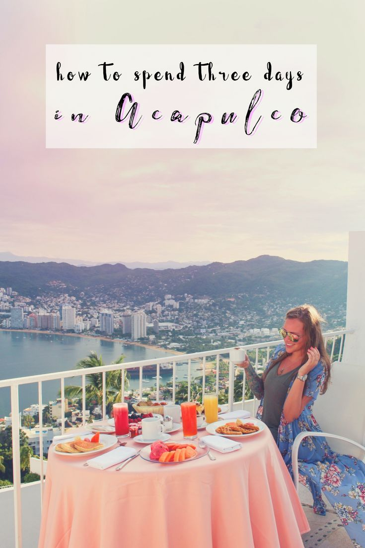 Are you visiting Acapulco Mexico soon? If so, you have to check out this Acapulco guide that will help you plan your trip. We will tell you how to spend three days in Acapulco, what to see in Acapulco, where to stay in Acapulco, and more. Make sure you save this to your travel board so you can find it later. #acapulco #acapulcomexico #mexico #mexicotravel