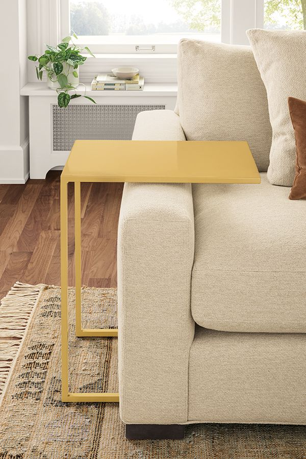 Slim C Table In Colors Modern End Tables Modern Living Room Furniture In 2020 Modern End Tables Modern Furniture Living Room C Table