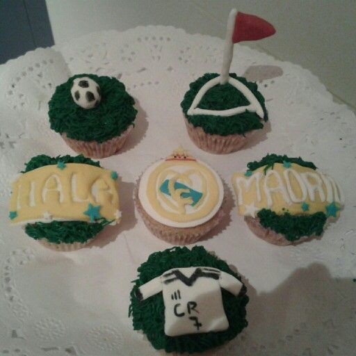 Cupcakes Real Madrid