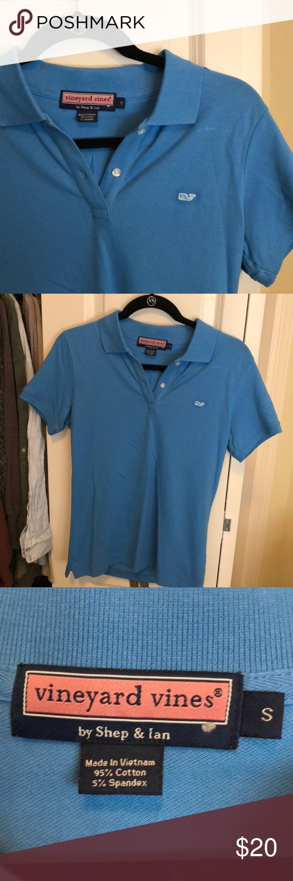 Vineyard Vines Women's Polo NWOT From the outlet. Perfect condition!! Vineyard Vines Tops Button Down Shirts