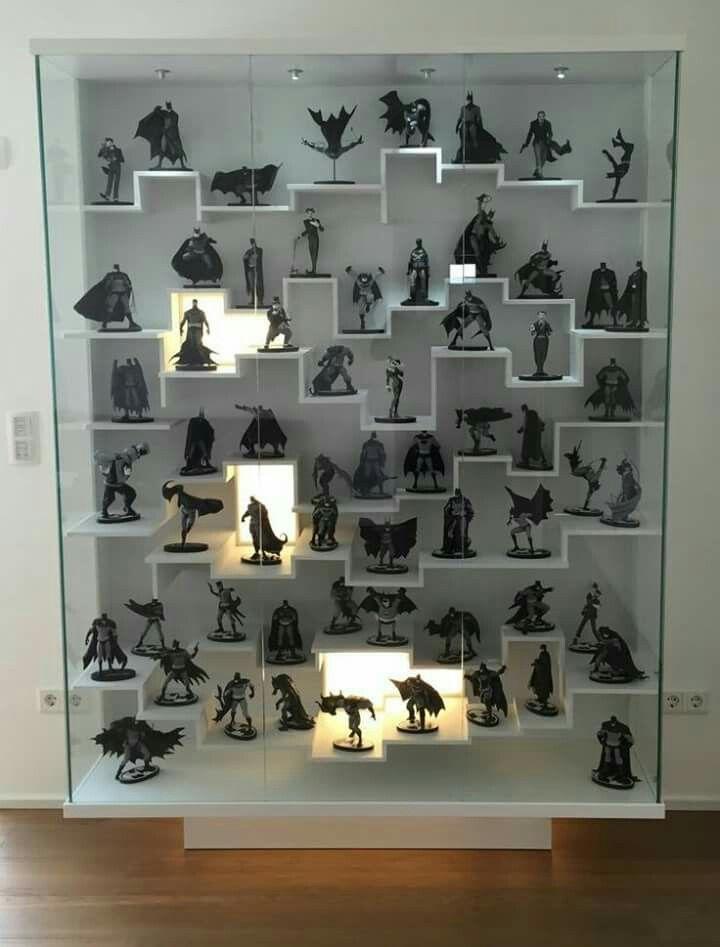 Beautiful Action Figure Display Cabinet