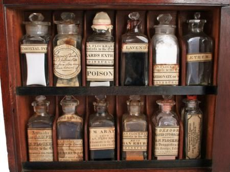 Antique Apothecary.