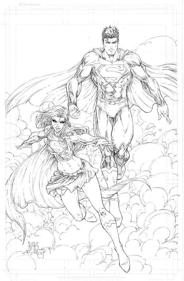 V Ken Marion Superman and Supergirl