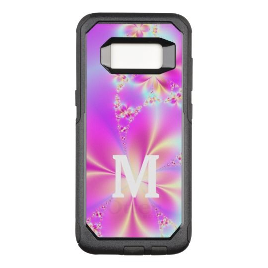 Colorful Fractal Floral Art OtterBox Commuter Samsung Galaxy S8 Case