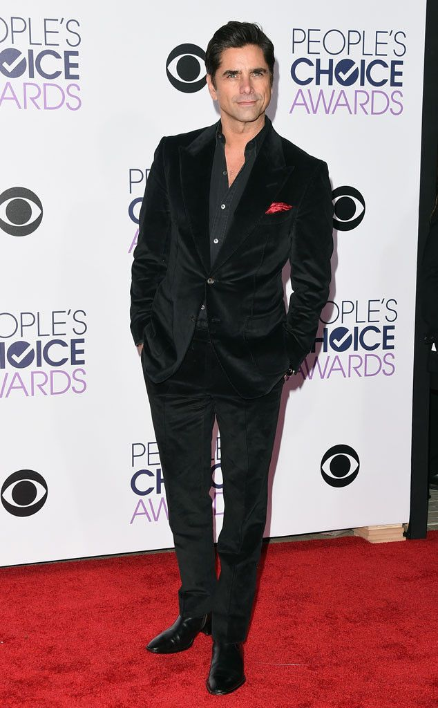 John Stamos from 2016 People's Choice Awards Red Carpet Arrivals | E! Online