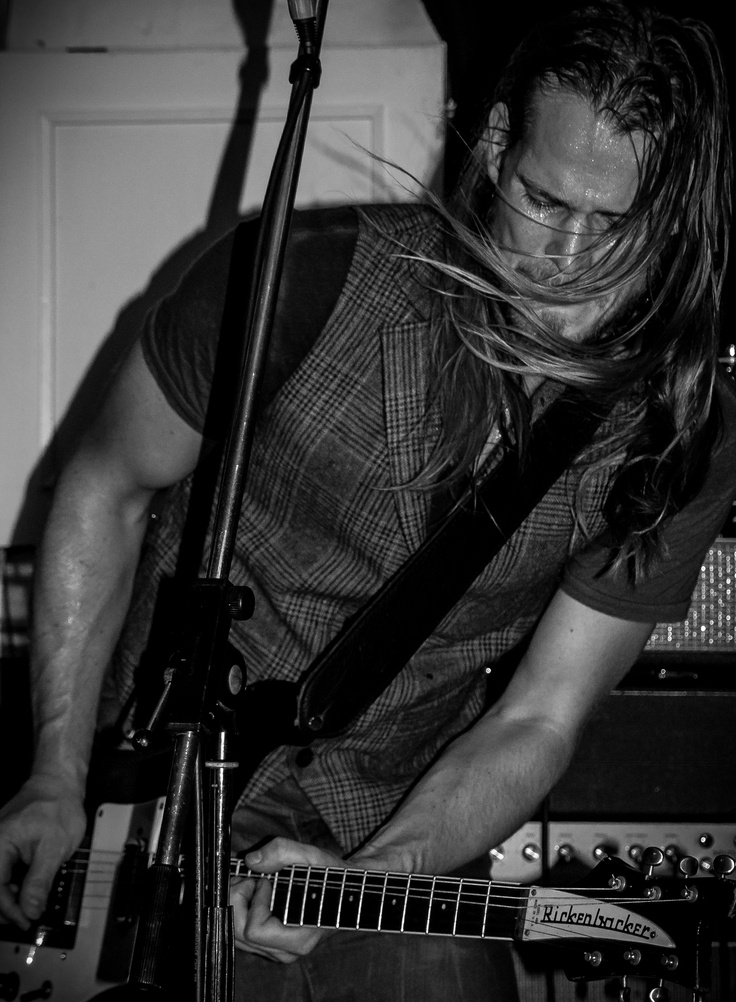 Danish rock musician Rasmus Madsen
