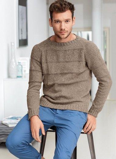Pour mon homme,  modèle en coton bergère de France