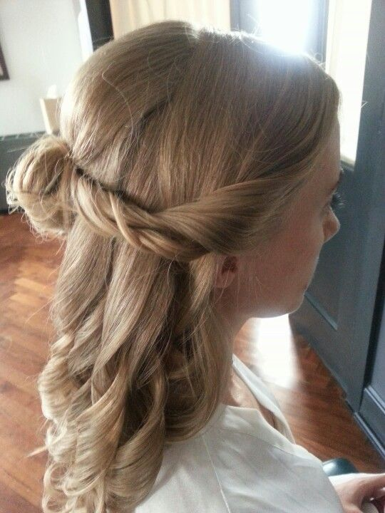 hair styles for small half up bridal hair our wedding works hair 4993