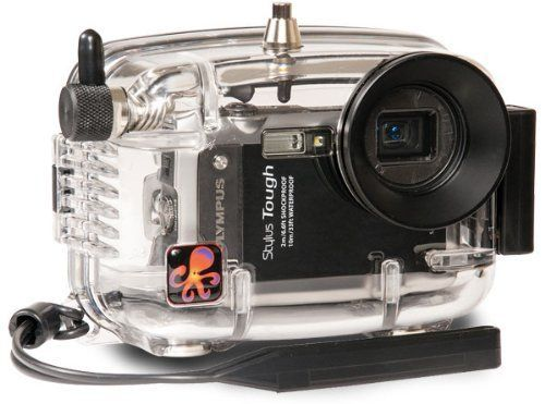 Ikelite Underwater Camera Housing for Olympus Tough 8010 (mju 8010) Digital Cameras ** Click image for more details.