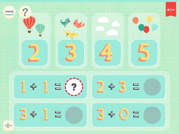 Math Superheroes Flat Game UI