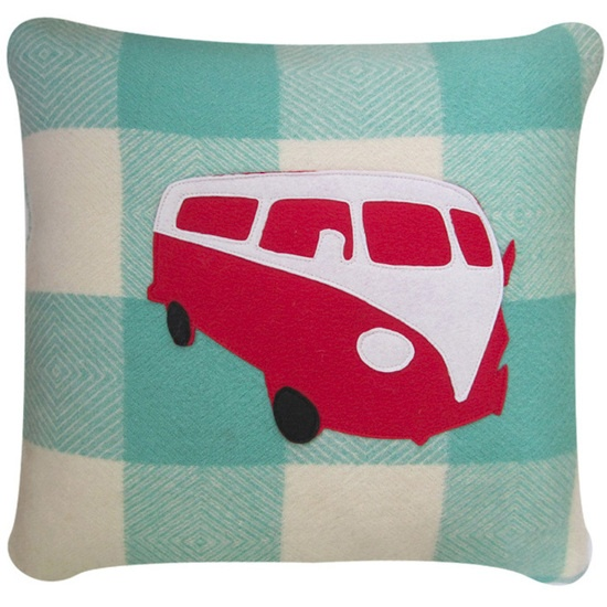 Bilinga Kombi Cushion from www.whitecoconut.com.au #cushions #homewares #vintage #gifts