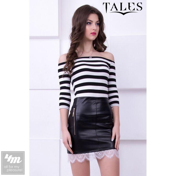 Блузка Tales «Cleo» (Белый) http://lnk.al/3GDy  Стильная блузка с открытыми плечами и актуальным принтом в полоску. Изделие выполнено из натуральной, приятной к телу ткани. Блузка идеально сочетается с юбкой или брюками.  #блузы #блуза #блузка #блузки #стильныйобраз #лукдня #мода #вещи #одеждаУкраина #4m #4m.com.ua