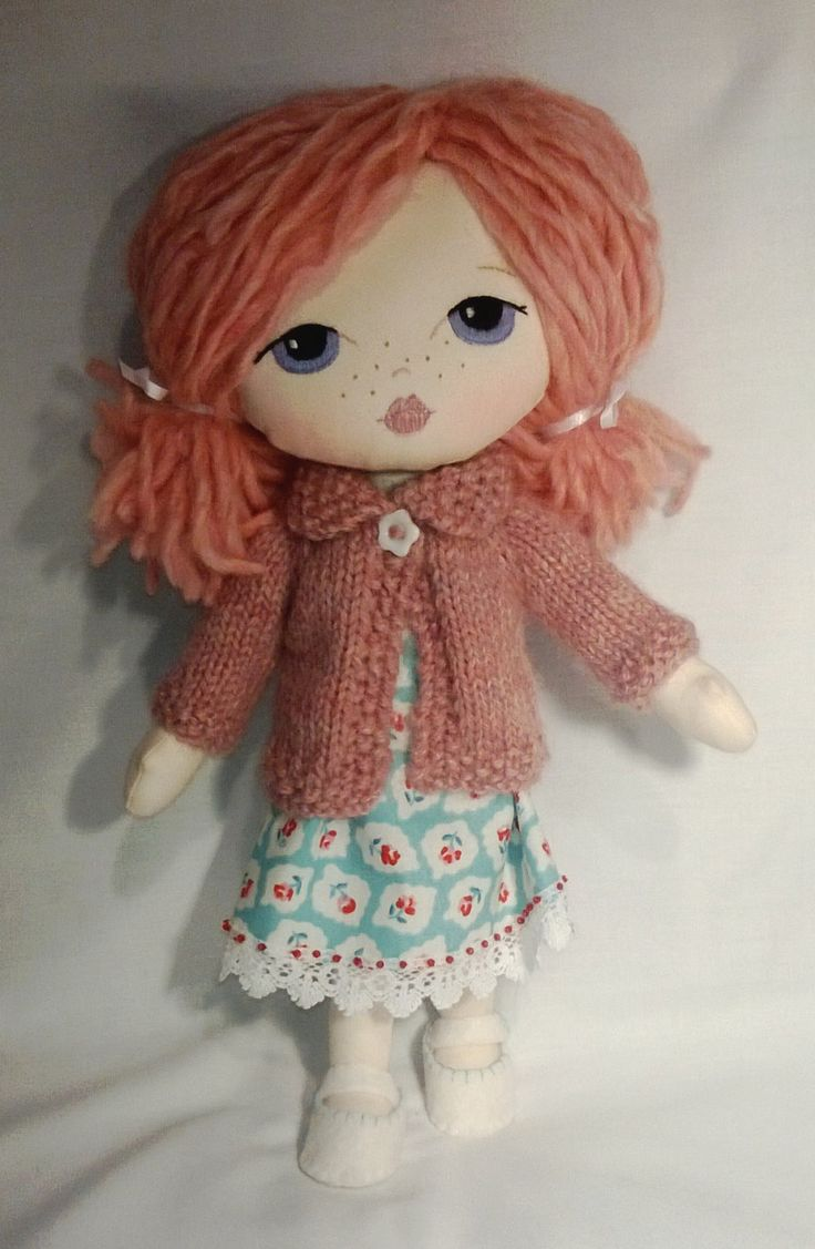 Lilly a Gingermelon little lady doll by Gwendollys on Etsy