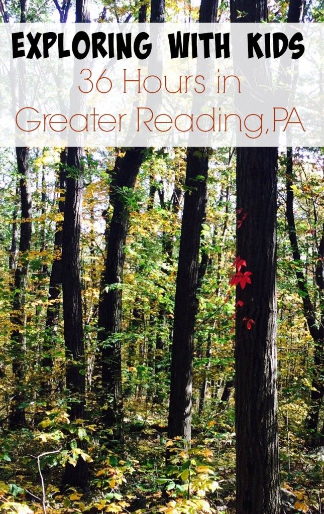 Looking for fun things to do with kids? Get the scoop on the Greater Reading PA region. It is an easy and fun day trip or weekend destination. Exploring with kids in this vibrant area offers so many options and kid-friendly attractions from easy day hikes to museums, music and historical sites. Where Art and Culture Happen. GoGreaterReading AD http://kidventurous.com/exploring-kids-36-hours-greater-reading-pa/