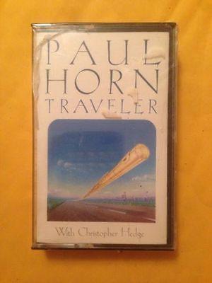 Paul Horn Traveler Cassette Brand New Sealed jazz