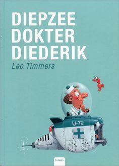dokter Diederik duikt elke dag de diepte in om er de zeedieren te verzorgen...
