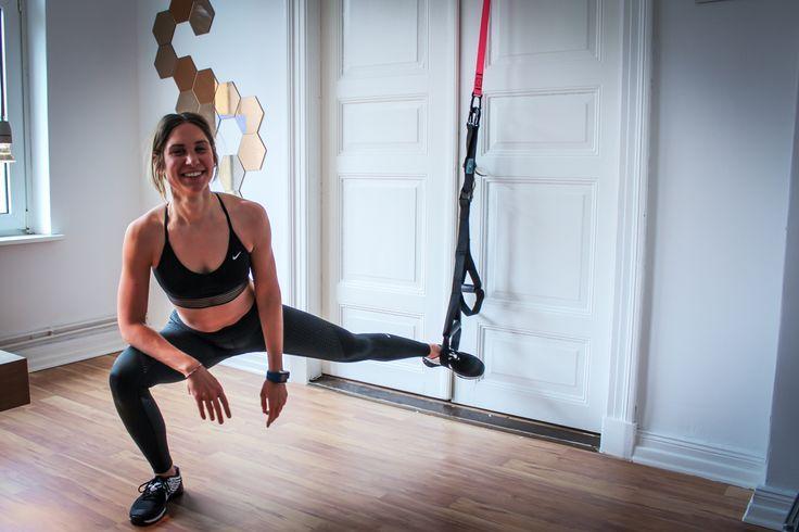 Sling Trainer Workout für Zuhause - 31 Übungen mit dem Schlingentrainer für Bauch, Beine, Brust, Po & Rücken. TRX Suspension Training Anleitung