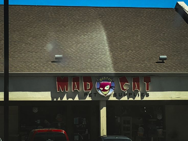 Joel visited Mat Cat Pet Supplies in Madison on his Wisconsin trip last week and confessed that theirs is his favorite sign in the pet industry!