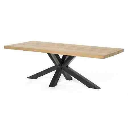 A1-tafels Industriele tafel | Eiken blad | Leudal