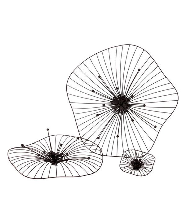 Look at this Metal Flower Wall Art Set on #zulily today!