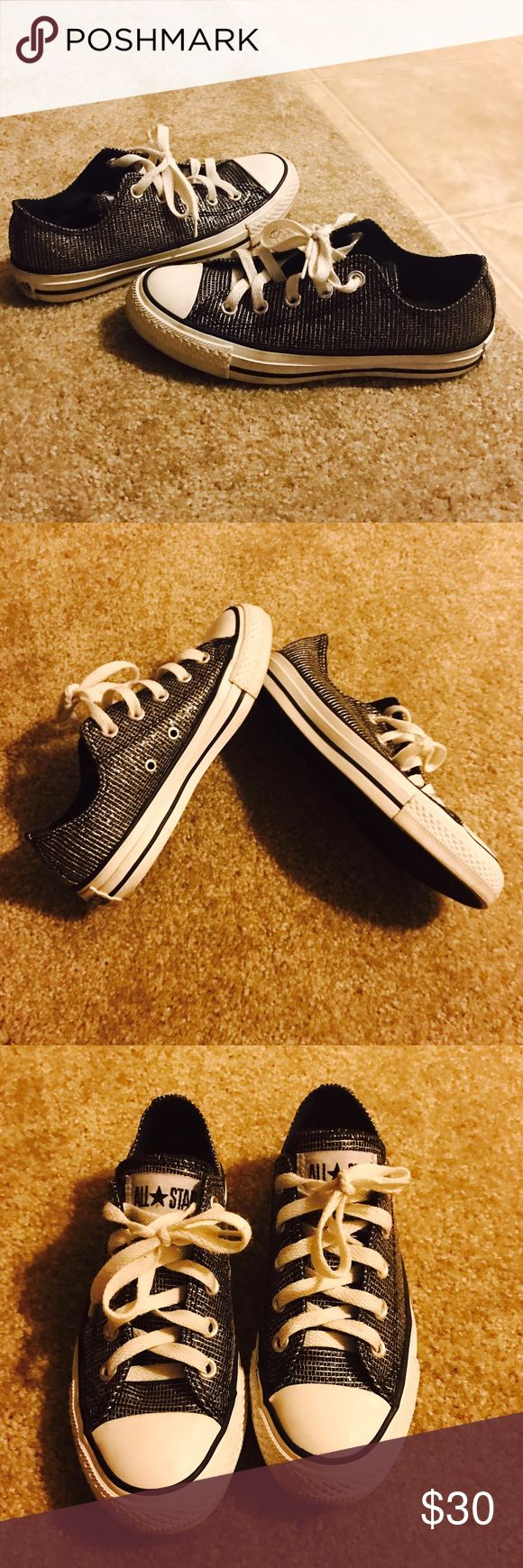 Glitter converse Great conditions Converse Shoes Athletic Shoes