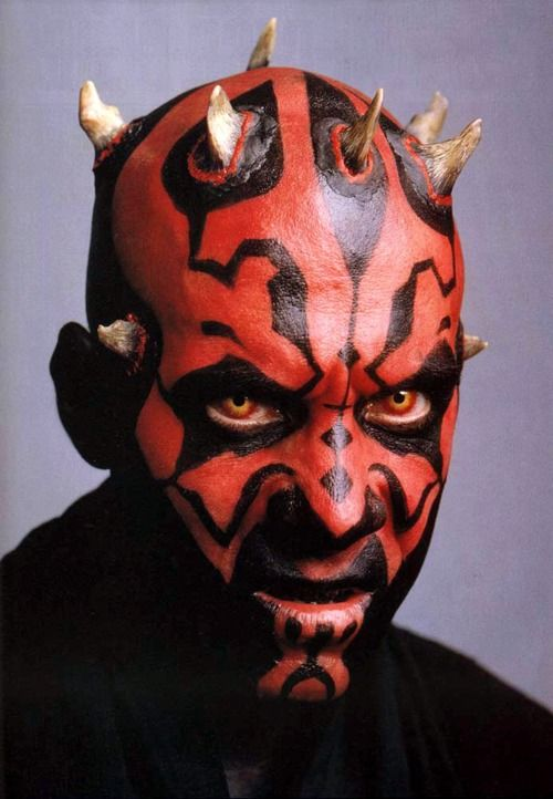 Darth Maul promo shot for EPISODE I - THE PHANTOM MENACE (1999)