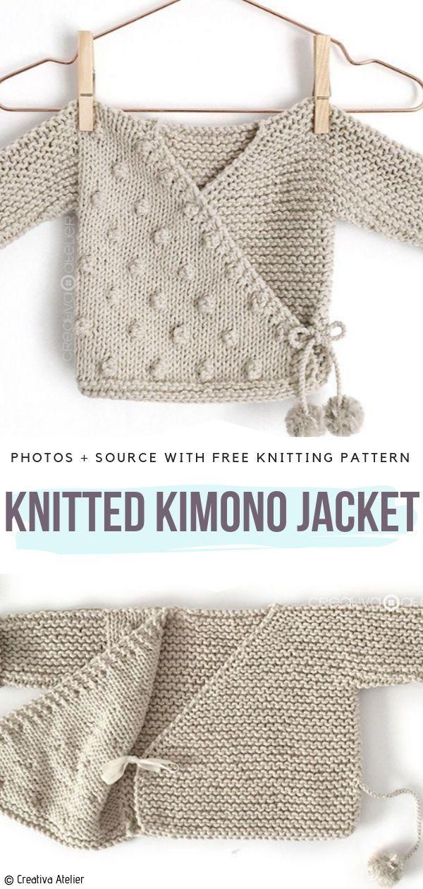 Baby Kimono Sweater Free Crochet Pattern Freecrochetpattern Crochetpattern Crochetsweater Cardiganpatterns