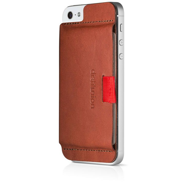 Wally iPhone Wallet - Brown Leather