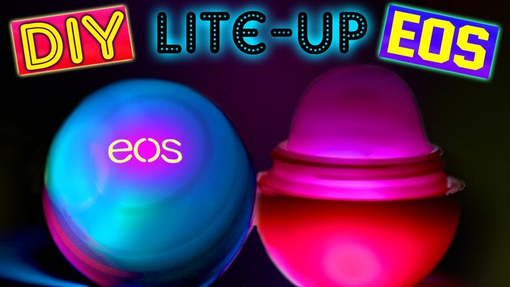 DIY Light-Up EOS Lip Balm! | DIY Flashing EOS! | Make Your EOS Lip Balm ...