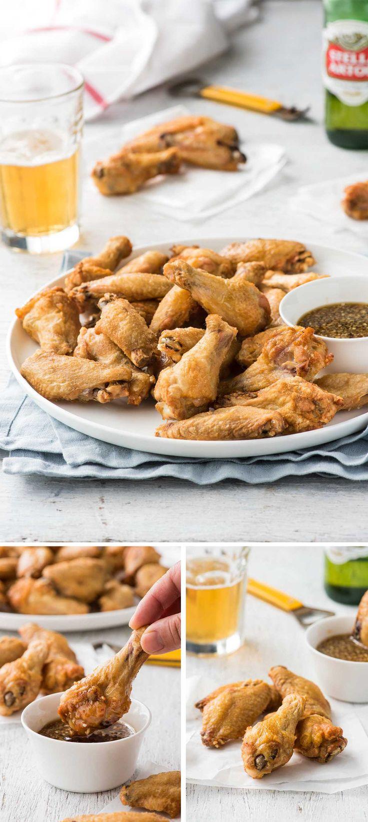 how to make honey garlic wings