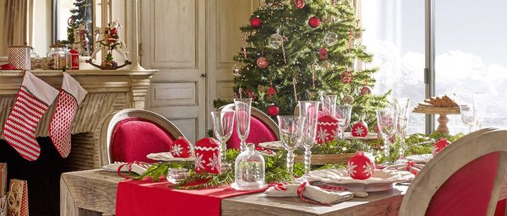 Une jolie table de Noël!