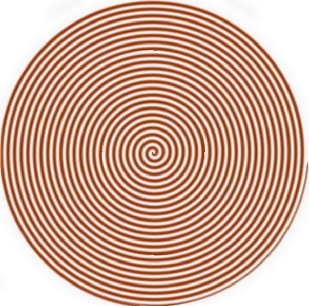 hypnotic candycanes circular image picture and wallpaper