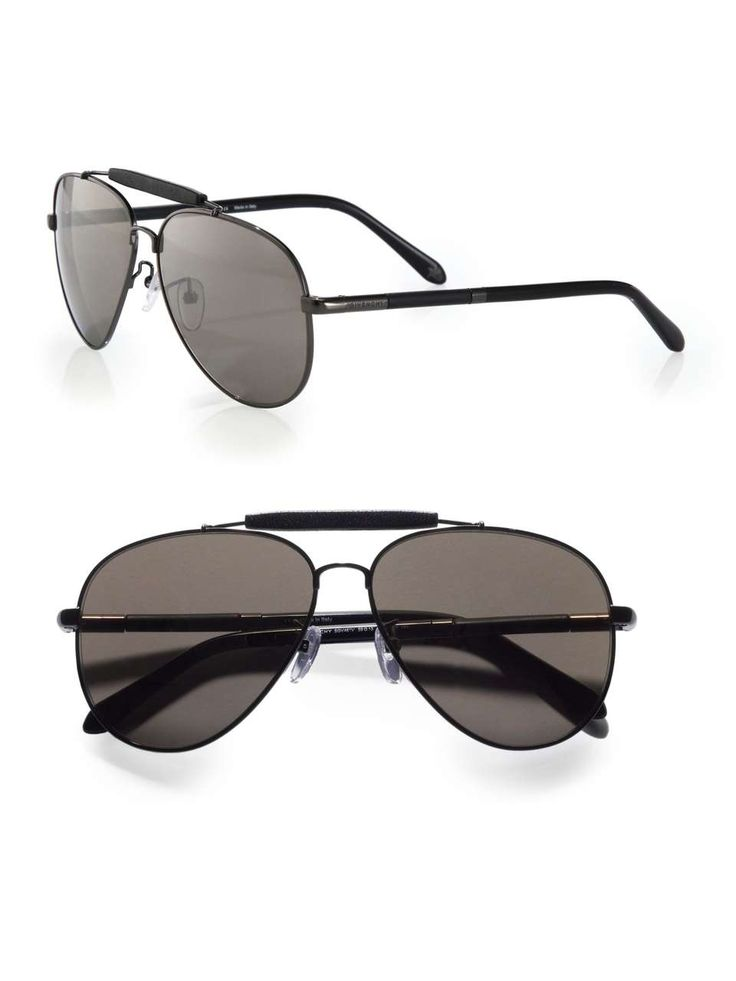 Givenchy Metal Aviator Sunglasses | $335 | mens sunglasses | mens style | mens fashion | wantering http://www.wantering.com/mens-clothing-item/metal-aviator-sunglasses/aasac/