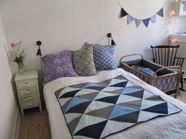 Inspiration: Soveværelse med plads til baby (skøøøn blog: Maries ...