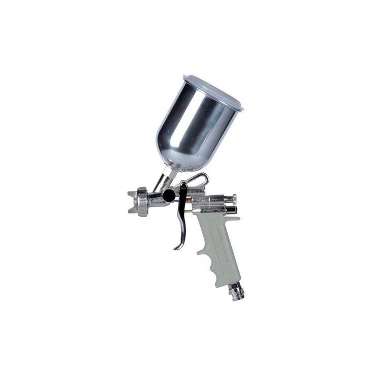 Aerografo Convenzionale Manuale Superiore A Bassa Pressione E70 Ugello Ø 1,6Mm 500Cc Serbatoio Alluminio