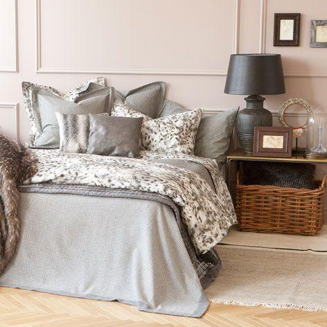 Κάλυμμα κρεβατιού φανέλα πιε ντε πουλ - Καλύμματα - Κρεβατι | Zara Home Ελλάδα / Greece