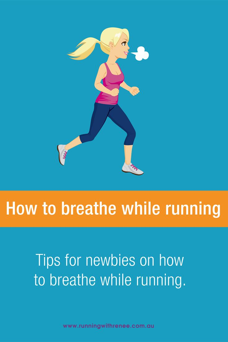 How to breathe while running